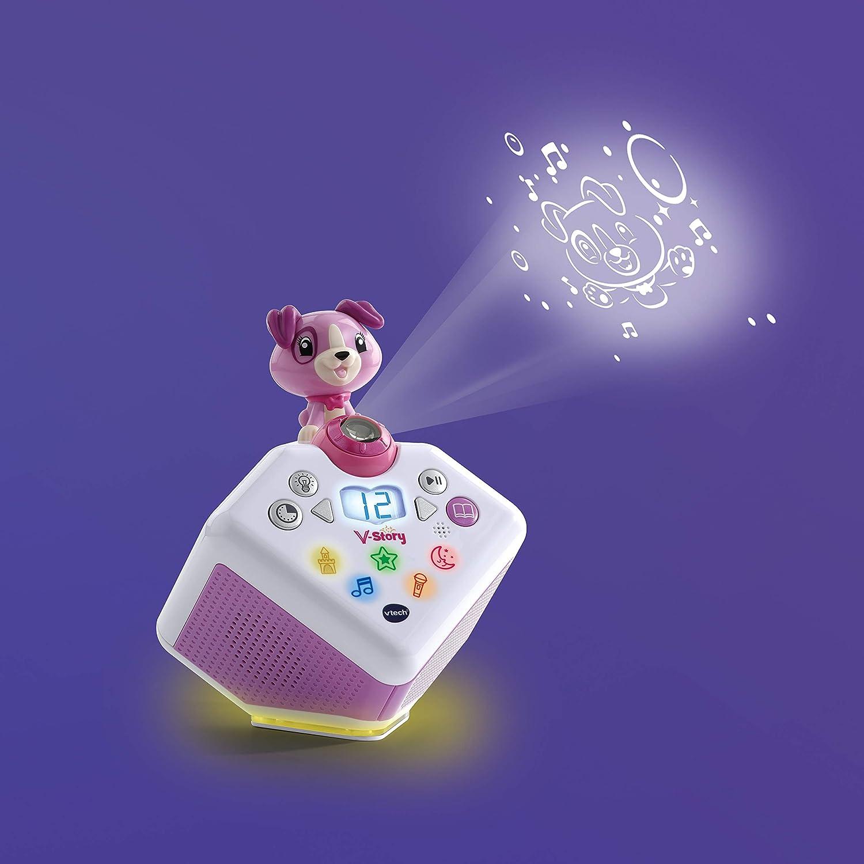 VTech 80-608074 boîte de musique et d'histoires Multicolore - EN ALLEMAND Rose