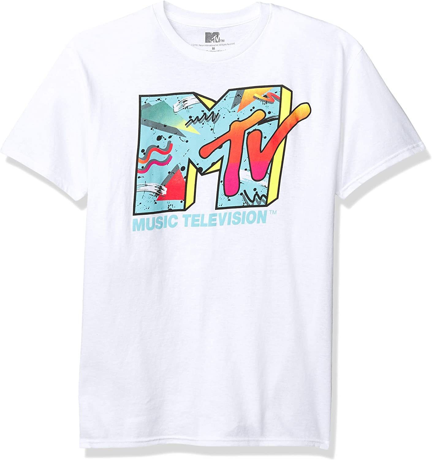 MTV Men's Retro Logo T-Shirt