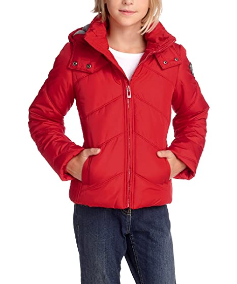14 Fr Fabricant Doudoune Rouge Fille taille Esprit Ans wCgIqxw4