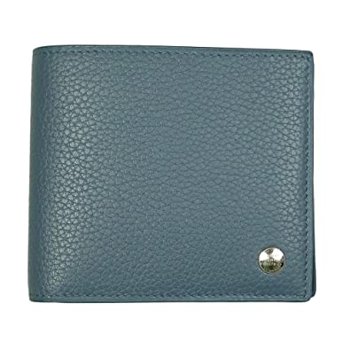 b0c43d450f7a ダンヒル dunhill 二つ折り財布 メンズ ボストン BOSTON グレインレザー ブルー L2Y332D [並行輸入品