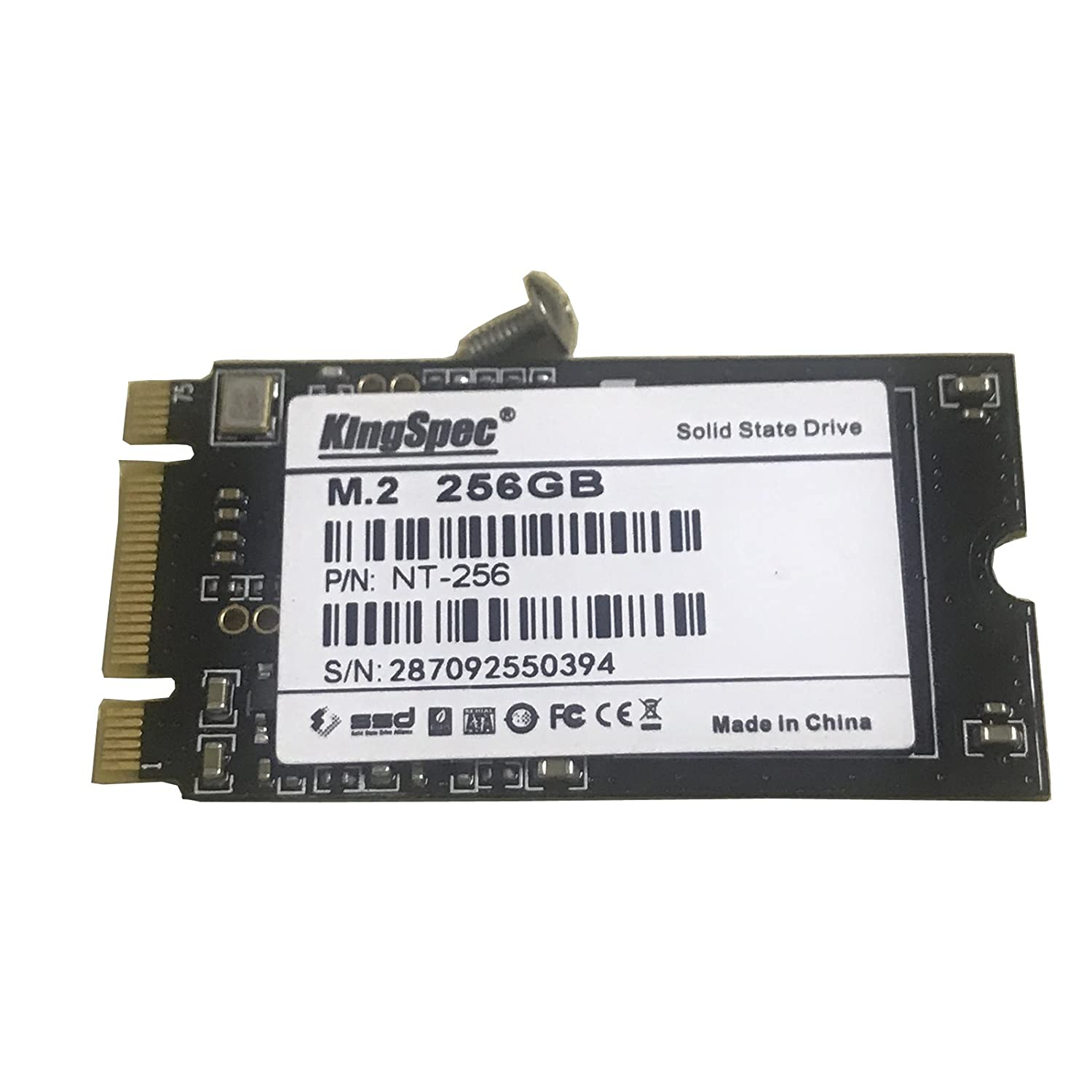 Amazon com: 256GB HDD NGFF M2 2242 SATA SSD Solid State Disk