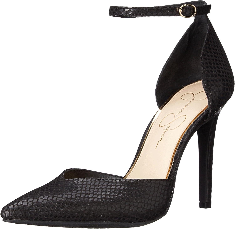 Black Snake Jessica Simpson Women's Cirrus Dress-Pump
