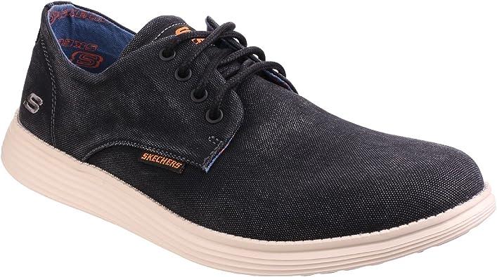 Status-Borges Lace Up Canvas Shoes
