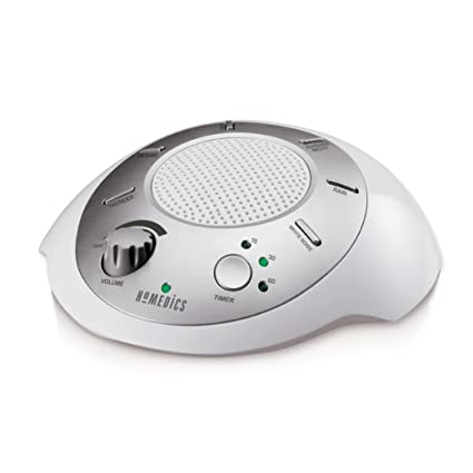 HoMedics SS-2000G/F-AMZ Sound Spa Relaxation Machine with 6 Nature Sounds