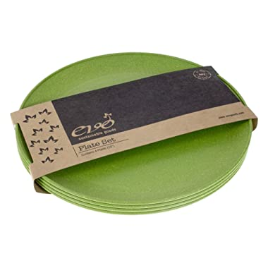 EVO Sustainable Goods 10  Plate, Set of Four, Green