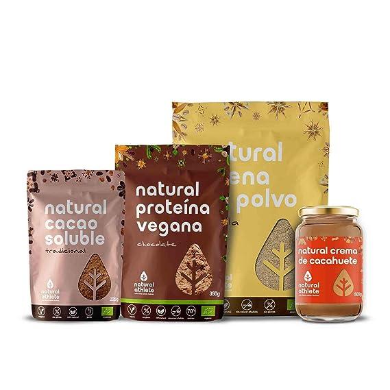 Cesta de Navidad para Veganos - Natural Athlete - Repostería Gourmet y Natural de nuestros productos