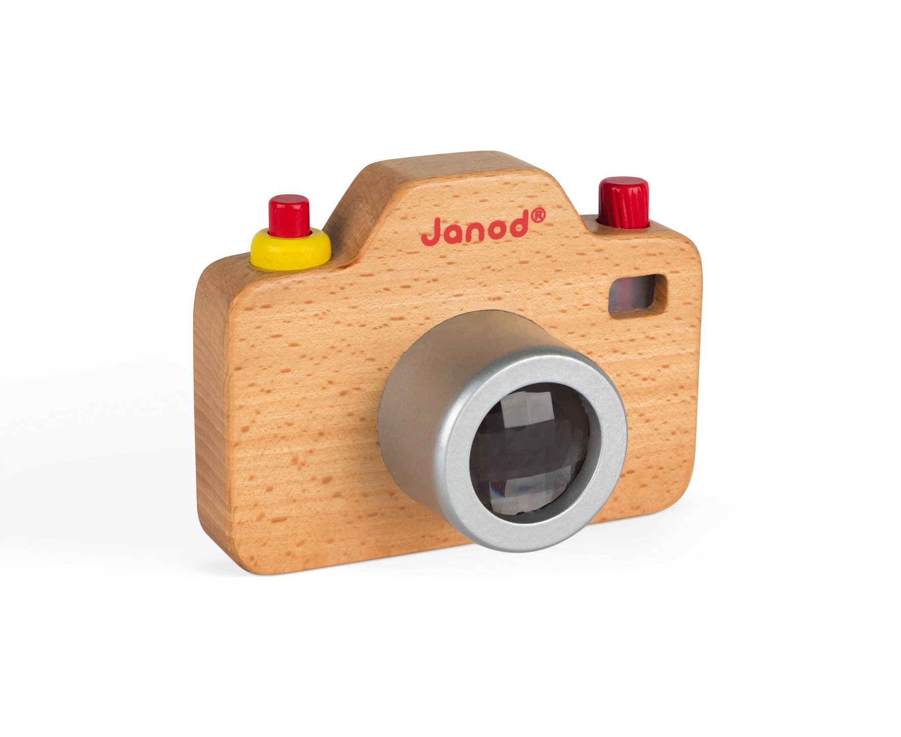 Janod Wooden Interactive Sound Camera Toy by Janod (Image #9)