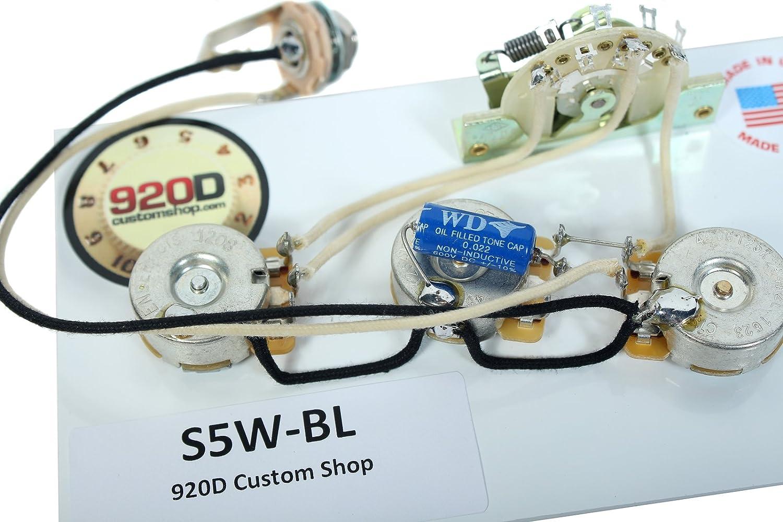 920d Fender Strat Stratocaster Wiring Harness Blender Pot Crl Cts Pio Gavitt Custom Shop 920 6725