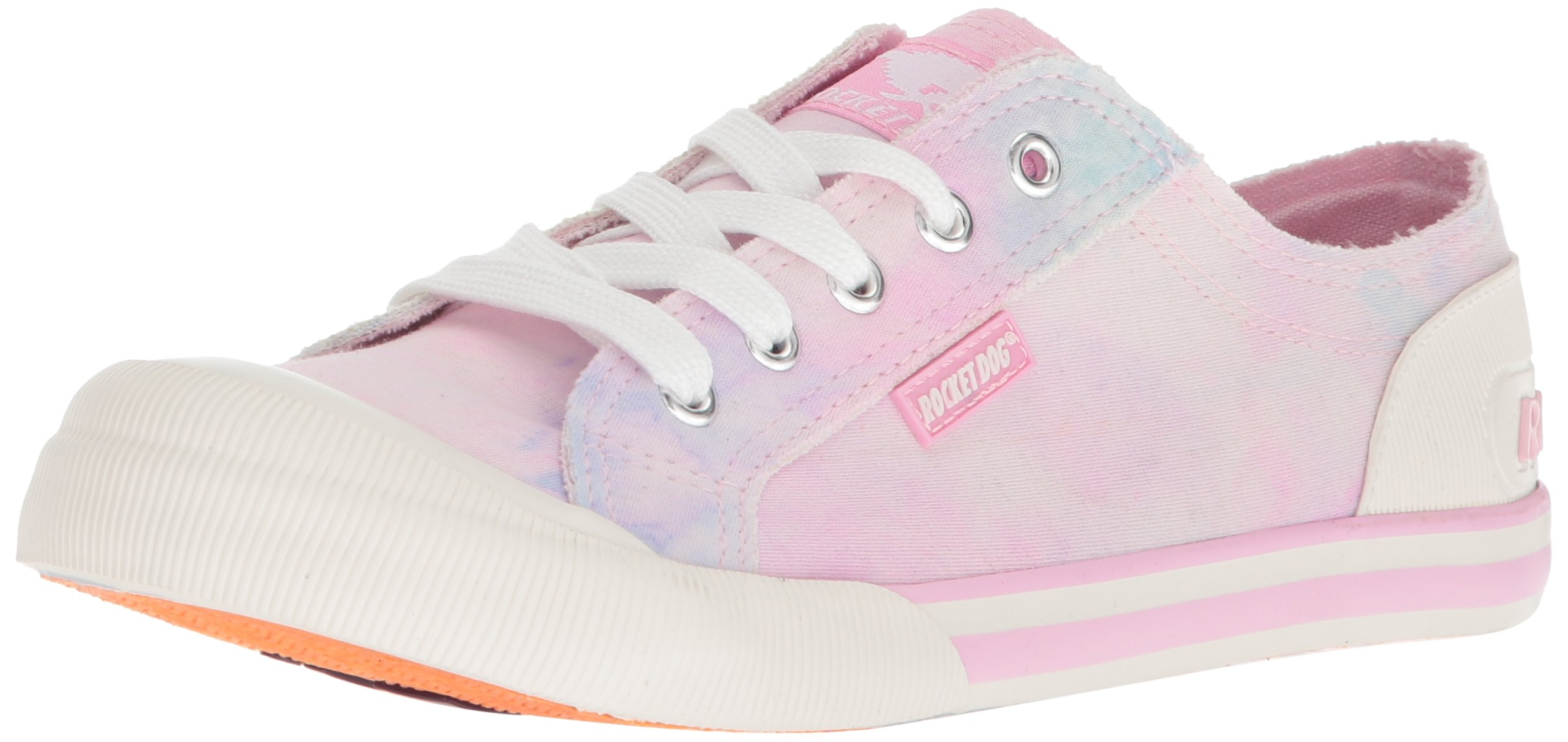 Rocket Dog Women's Jazzin Vision Cotton Sneaker, Pink, 8 M US