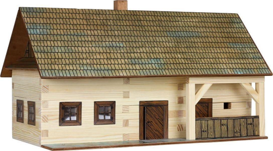 Walachia Bahnhofsgebäude Fachwerk Holz Modellbauset Modellbahn Spur 1// LGB 1:32