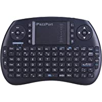 iPazzPort Wireless Mini Keyboard with Touchpad for Android TV Box and Raspberry Pi 3 B+ and HTPC