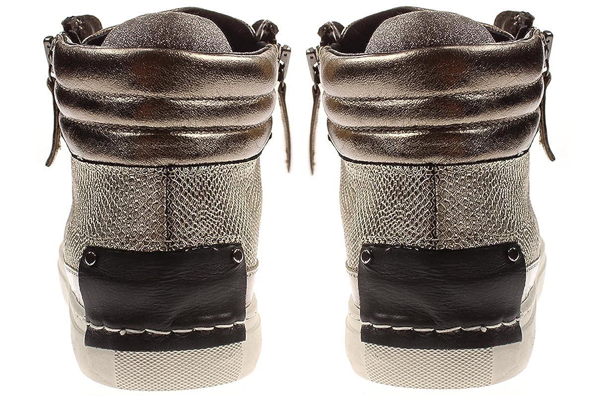 CRIME London 25320A17 - - Damen Schuhe Turnschuhe Schnürer - 25320A17 braun-60 Größe 39 EU 0c35eb