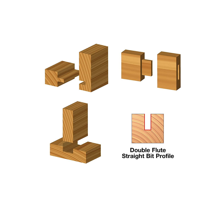 1//2 Shank Freud 9 Piece Basic Bit Set 91-108