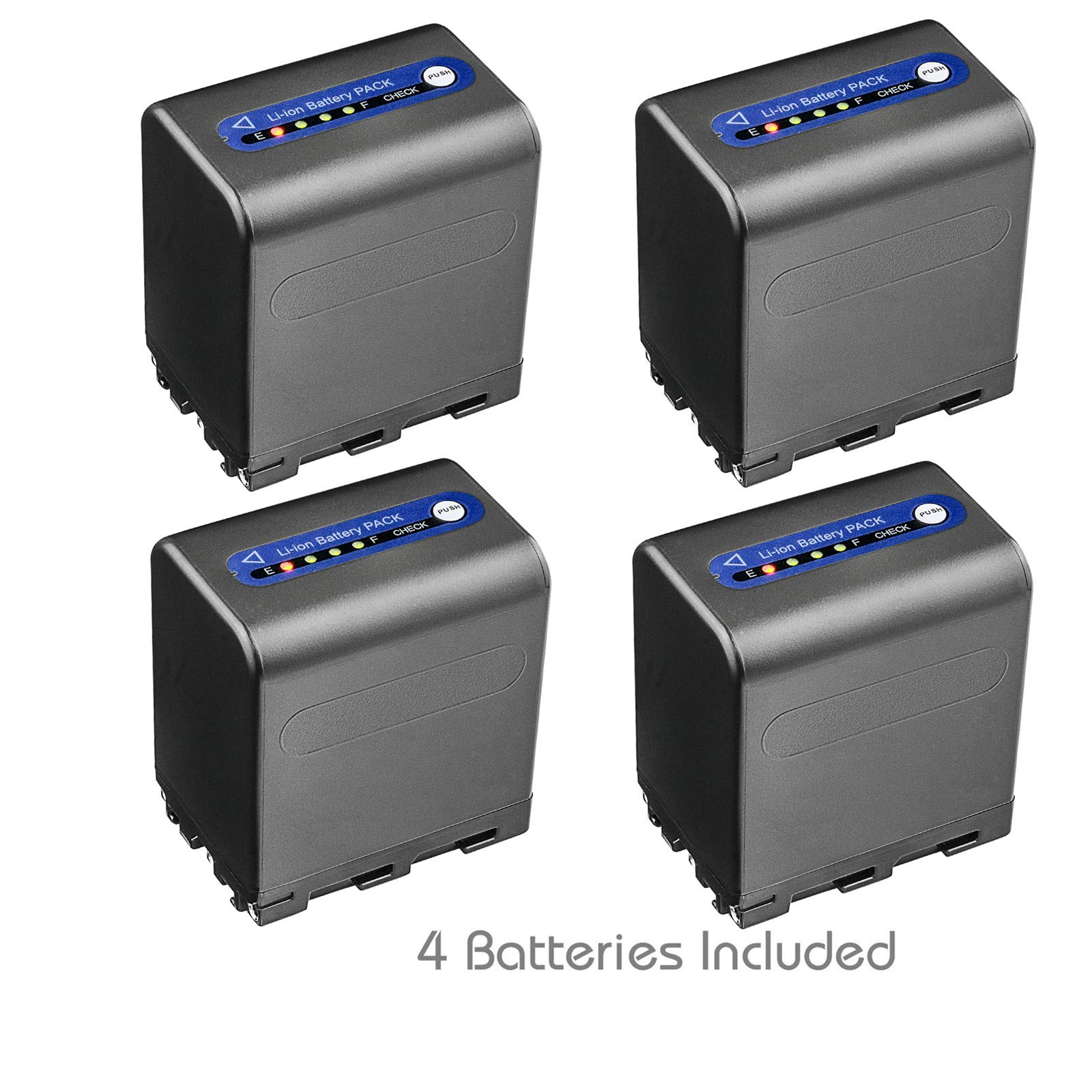 Kastar Battery 4-Pack for Sony NP-QM91D NP-QM91 and DCR-HC14 DCR-HC15 DCR-HC88 DCR-PC100 DCR-PC101 DCR-PC103 DCR-PC104 DCR-PC105 DCR-PC110 DCR-PC115 DCR-PC120 DCR-PC330 DCR-PC6 DCR-PC8 DCR-PC9 by Kastar