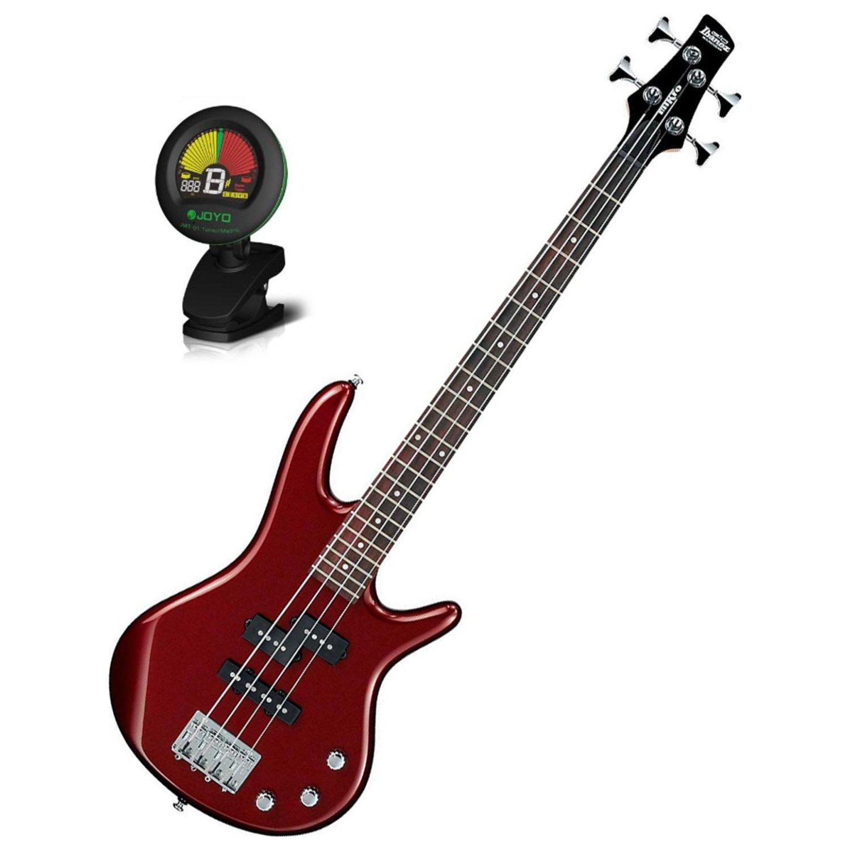 Ibanez Mikro Short Scale 4 String MINI Bass GSRM20 Root Beer Metallic w/ Tuner GSRM20RBM BUNDLE