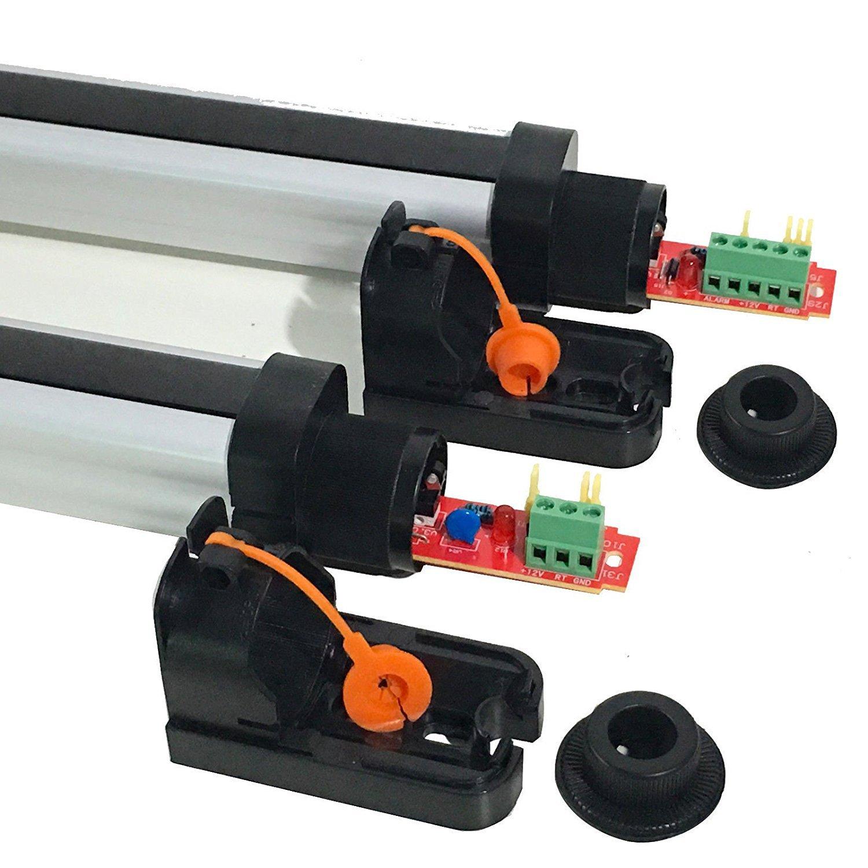 UHPPOTE Digital 4 Haces Detector Activo Infrarrojo Al Aire Libre Distancia De 10M Sensor de Detector de Barrera Para Jardín,Casa,Patio: Amazon.es: Industria ...