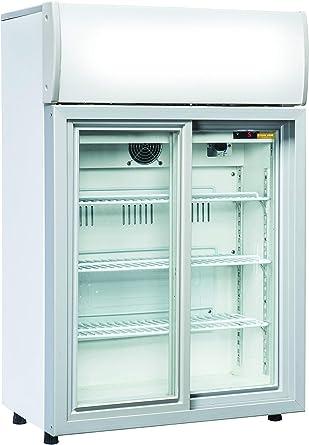 DC 85S - Nevera para bebidas (2 puertas correderas de cristal): Amazon.es: Grandes electrodomésticos