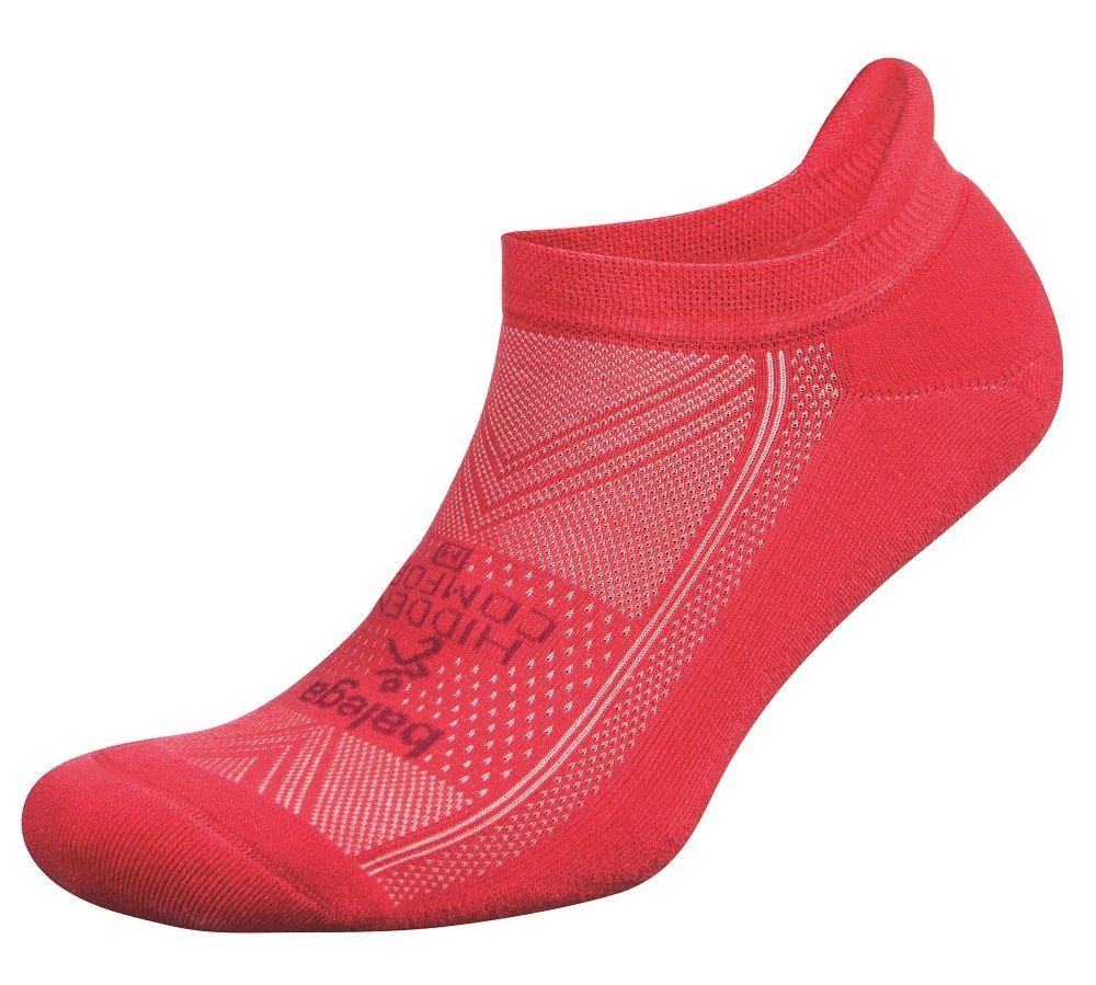 Balega Hidden Comfort No-Show Running Socks for Men and Women (1 Pair), Camelia Rose, Small