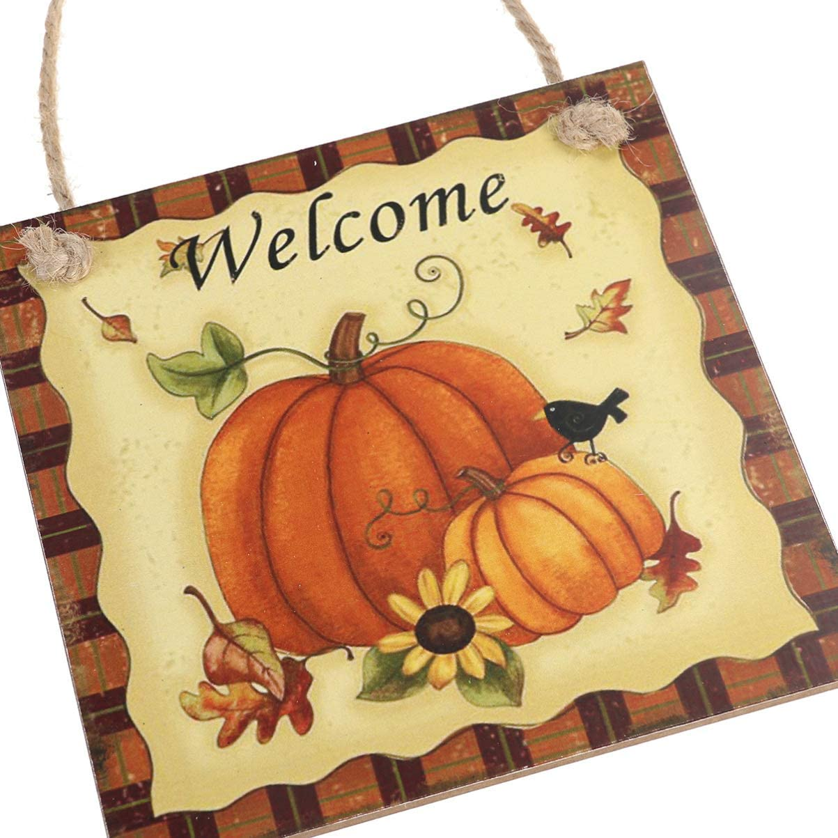 Thanksgiving Wall Decorations Wooden Hanging Plaque Sign Hanger Wall Decorations Home Decoration