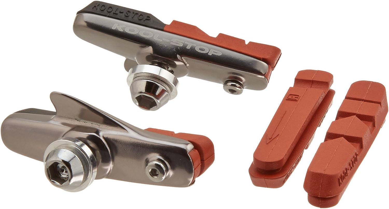 Kool-Stop Brake Pad Inserts fits Dura-Ace//Ultegra//105 Dry /& Wet Condition SALMON