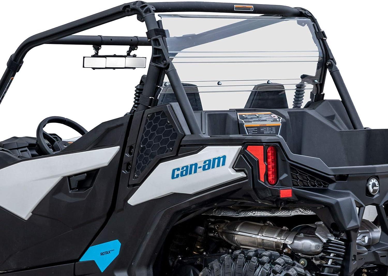 715003664 Can-Am New OEM Rear Wind Screen Maverick Trail Black