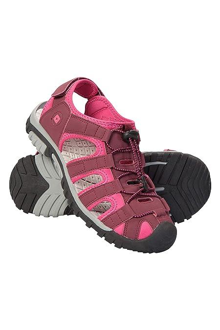 Mountain Warehouse Trek Sandalen für Damen - Shandalen mit Neoprenfutter, Strandschuhe, Flipflops mit Eva-Zwischensohle, vers