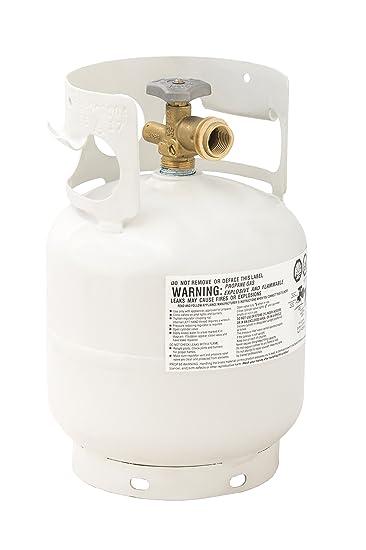 Flame King YSN5LB 5lb Tank Propane Cylinder, 5 lb