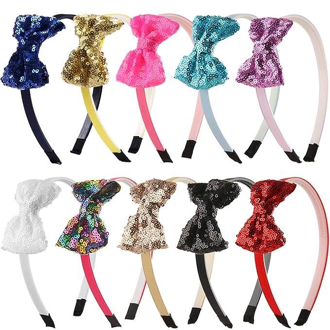 Christmas Headband Reindeer Headband Girls Hair Bow Cake Smash Bow Boutique Bow Animal Headband Toddler Bow Baby Headband