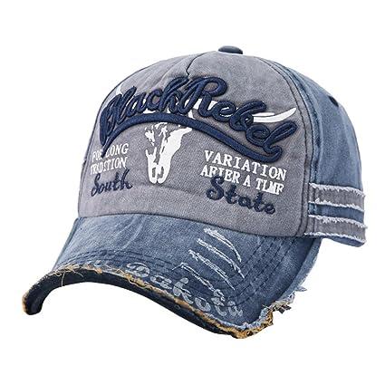 LMMVP Gorras Beisbol, Gorra para Hombre Mujer Sombreros de Verano Gorras de Camionero de Hip