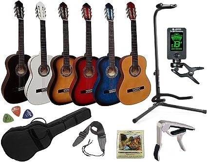 Guitarra Española Clásica 4/4 (Adulto) 7/8 3/4 1/2 1/4 (Niño) + 7 ...