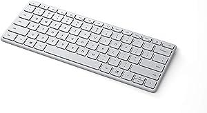 Microsoft Designer Compact Keyboard - Glacier (21Y-00031)