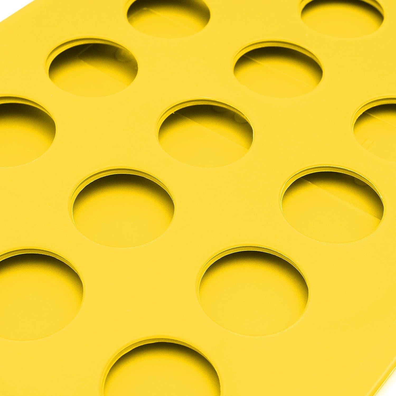 Tabla para Doblar Vestidos Pantalones Toallas Camisetas//Organizador De Ropa Takit Tabla para Doblar Ropa Amarillo 70x59cm Tabla para Doblar Camisas
