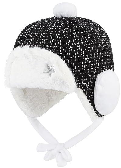 GEMVIE Baby Boys  3-12 Months Winter Fur Trapper Hat Eskimo Earflap Cap 46cm fe463ef2e8d
