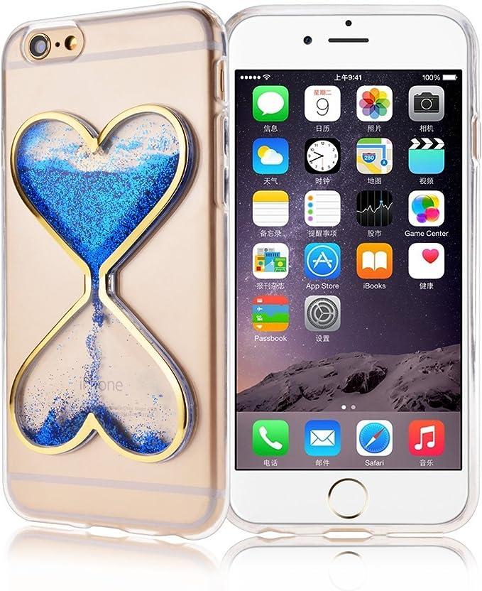 iPhone 5 C Coque, Horloge de Sable Sablier minuteur Clair ...