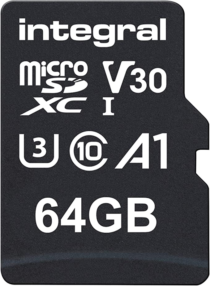 Integral 64gb Ultimapro V30 Premium Micro Sd Card Computers Accessories