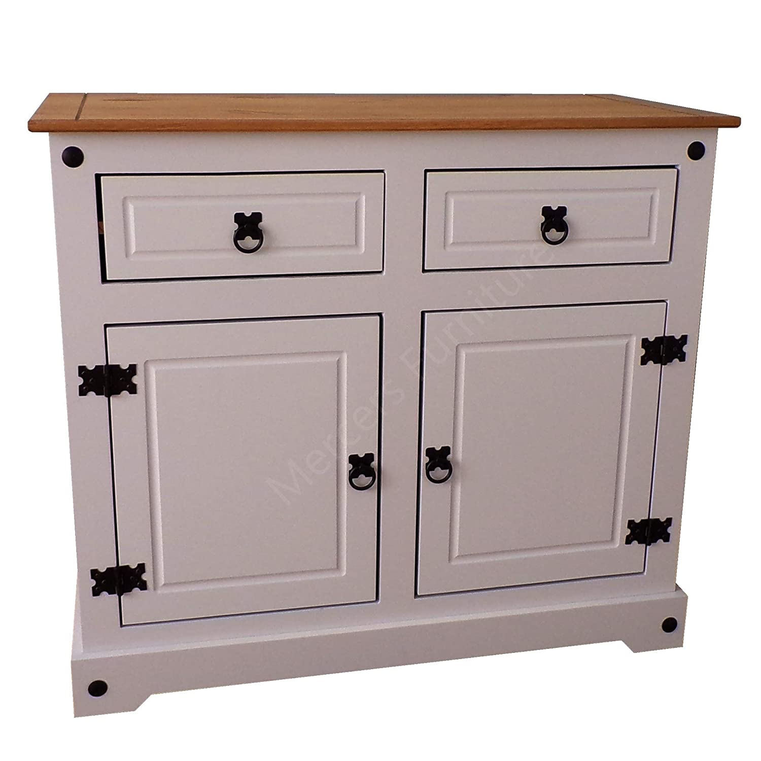 Mercers Furniture Corona Grey 2 Door Sideboard COGRY90