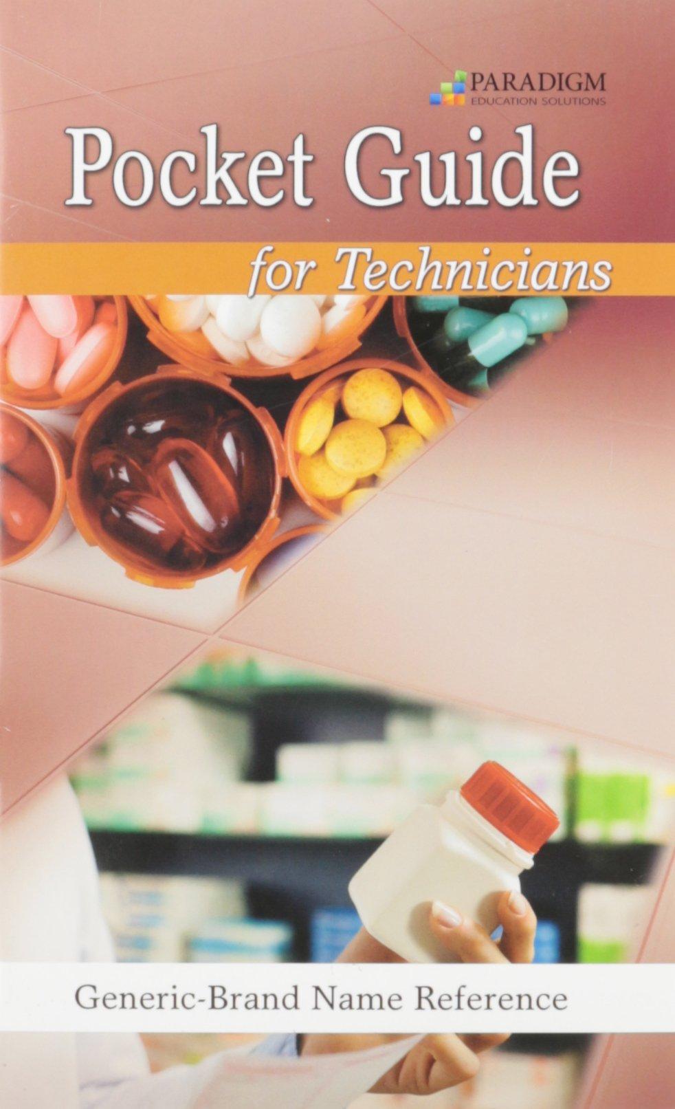 Pharmacology for Technicians: Pocket Drug Guide: 9780763852306: Amazon.com:  Books