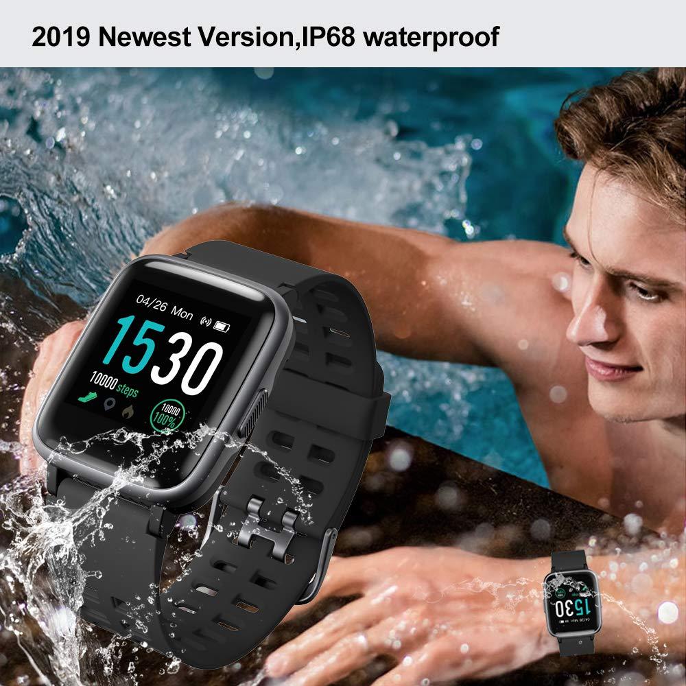 Amazon.com: YAMAY - Reloj inteligente con monitor de ...