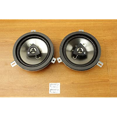 Chrysler Jeep Dodge 6.5inch Kicker Speaker Upgrade Set of 2 Mopar OEM: Car Electronics