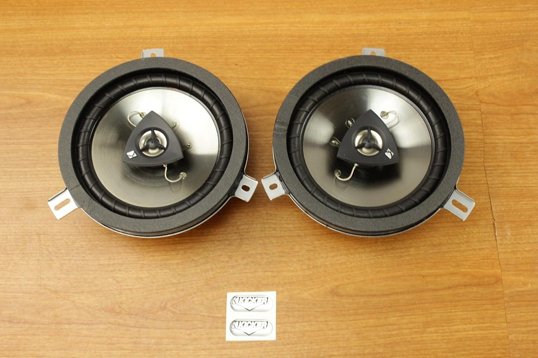 Amazon.com: Chrysler Jeep Dodge 6.5inch Kicker Speaker Upgrade Set of 2  Mopar OEM: Car Electronics