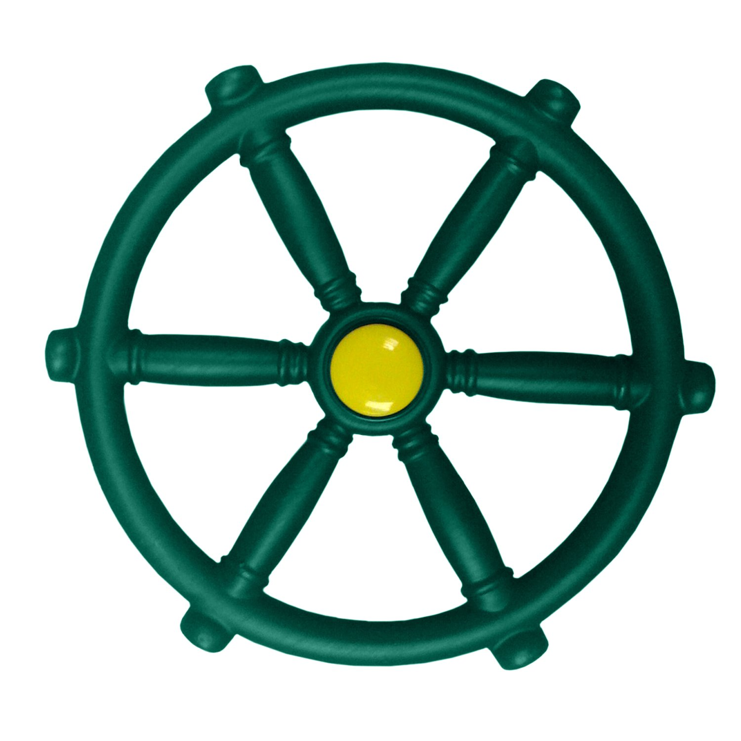 "Swing-N-Slide WS 1524 12"" Pirate Ship Wheel for Swing Sets, Play Sets & Playhouses"