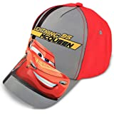 Disney Boys Cars Lightning McQueen Character Cotton Baseball Cap Baseball Cap