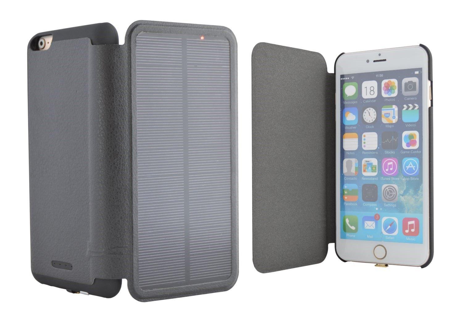 iPhone 6 PLUS Solar Power Battery Case 5.5