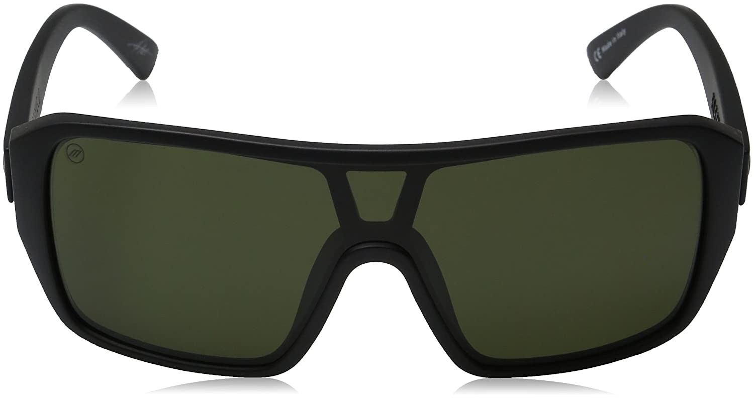 Electric Visual Blast Shield Matte Smoke//OHM Grey Fire Chrome Sunglasses