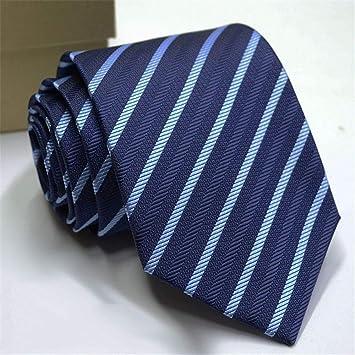 Zjuki corbata Corbatas de los Hombres Color sólido Flor de la Raya ...