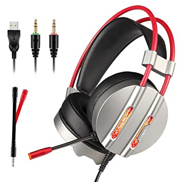 Stereo Gaming Headset, Tectri 7.1 Surround Sound: Amazon.de ...
