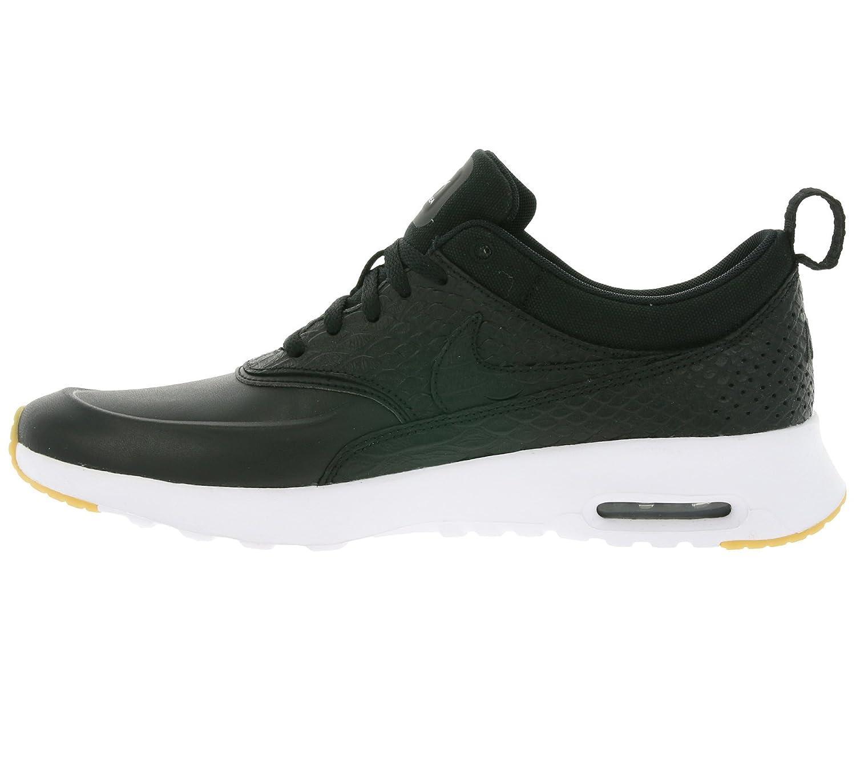 Nike Air Max Thea Premium Black Uk Cantante WBK35wo3