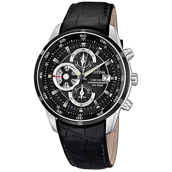 Festina F6821/3 - Reloj de Pulsera con cronógrafo para Hombre (Mecanismo de Cuarzo