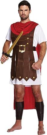 Emmas Wardrobe Guerrero Disfraz Romano - Incluye Gladiador túnica ...