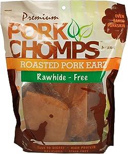 Premium Pork Chomps Roasted Earz Pork 10 Count